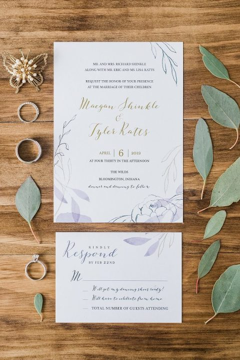 Eucalyptus wedding details