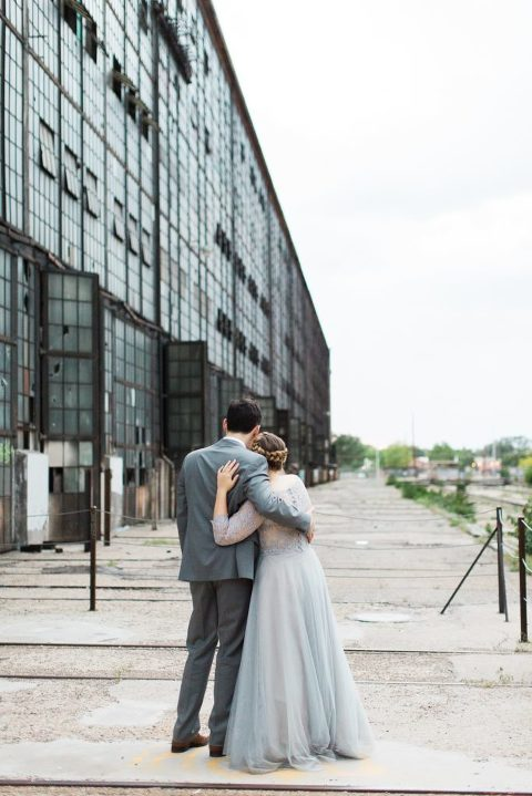 Ethereal Rail Yards Wedding