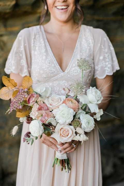 Fall elopement bouquet inspiration