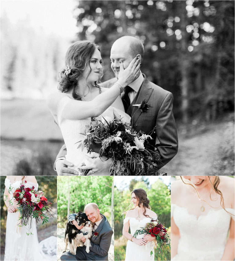Emotional Colorado wedding at Farish Recreation Area