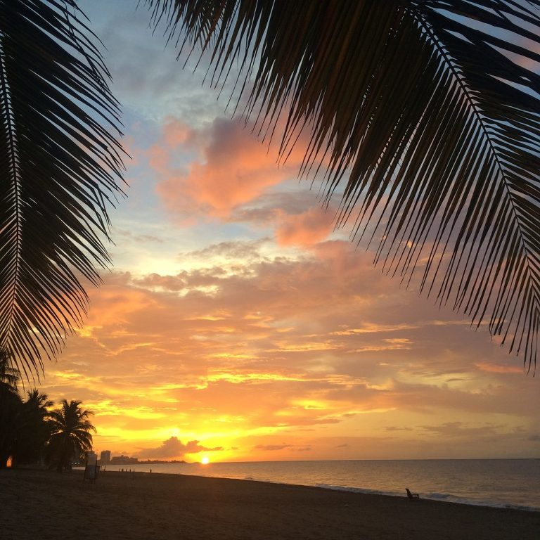 San Juan, Puerto Rico sunset