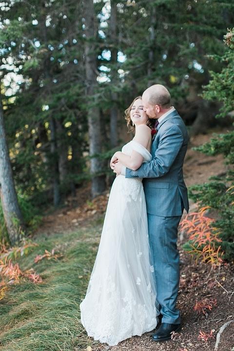 Giggles at Colorado Wedding