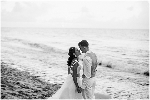 Bride and Groom   Rincon Sunset