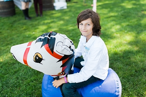 inflatable ponies