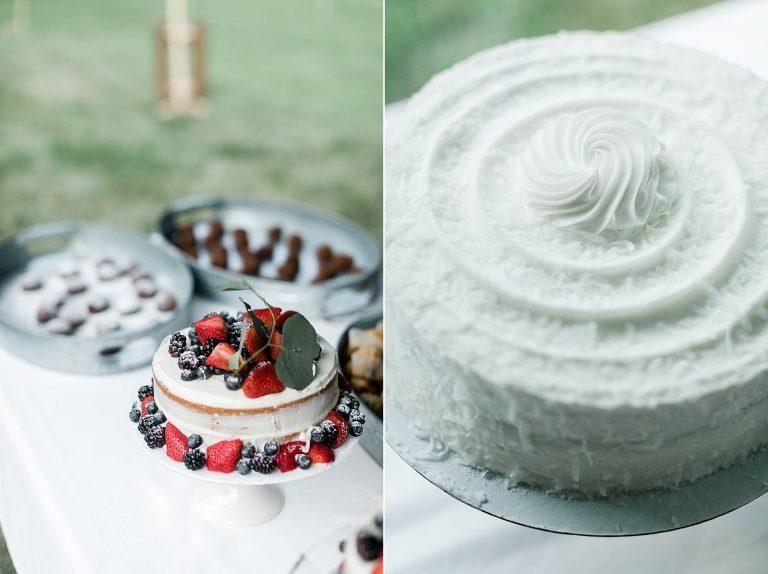 Eucalyptus and Fruit Cake