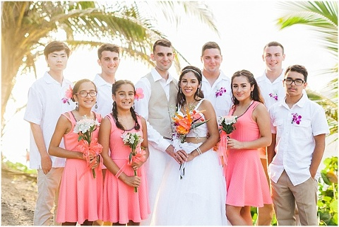 Wedding Party in Puerto Rico