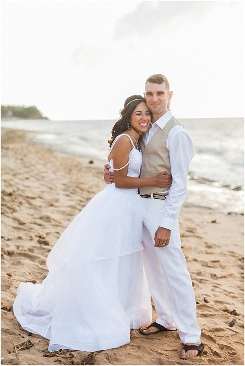 Just Married in Puerto Rico