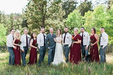Autumn Wedding party Inspiration