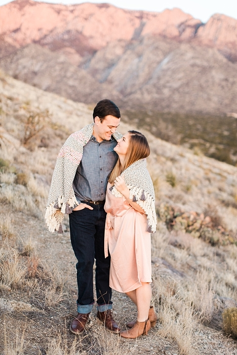 Sandia Mountains Engagement Session