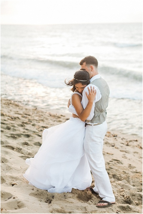 Rincon Beach Wedding