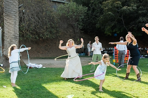 Hula Hoop Bride