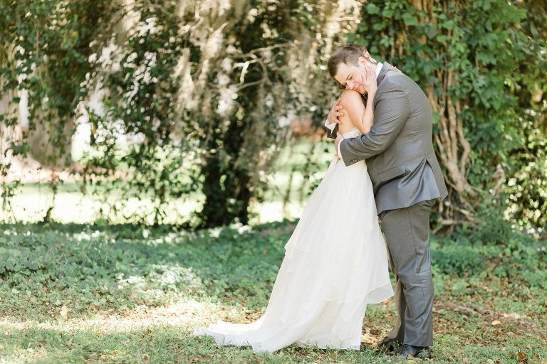Tallahassee Wedding First Look