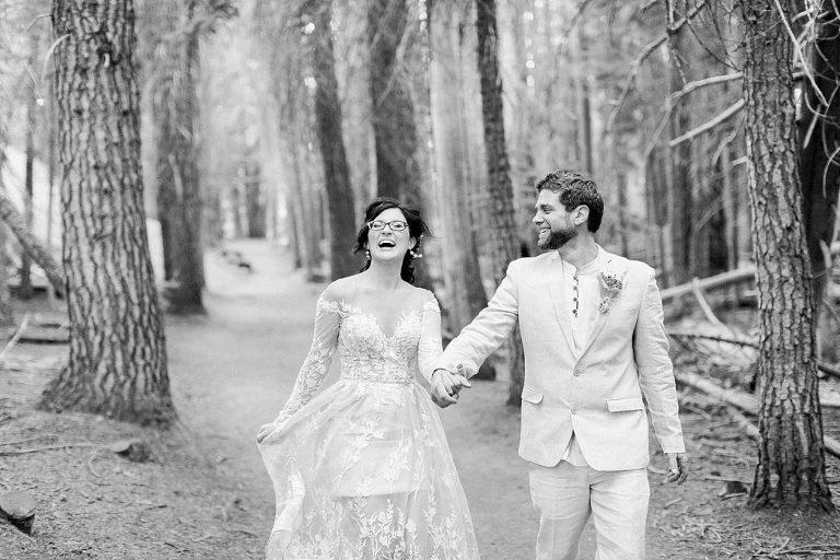 Taft Point wedding photo