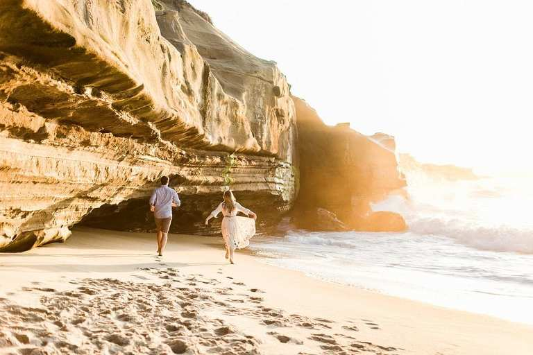 La Jolla is one of the most beautiful places to elope in San Diego