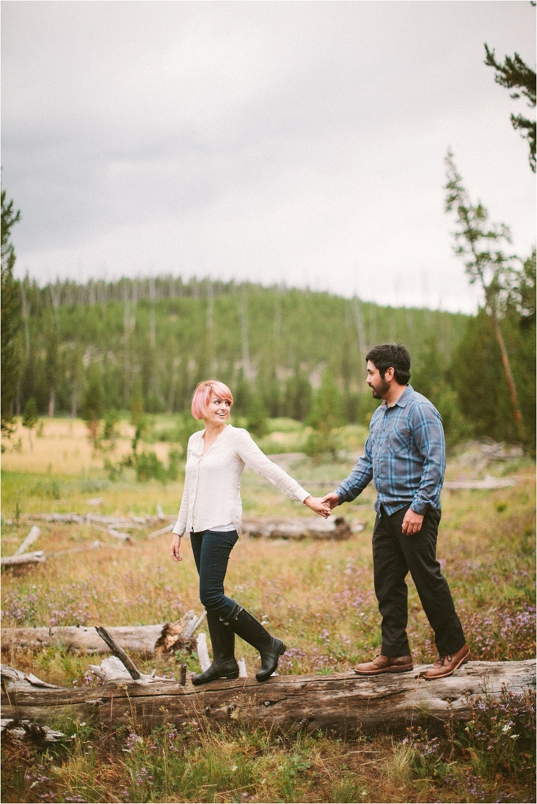 yellowston national park engagement session_0140
