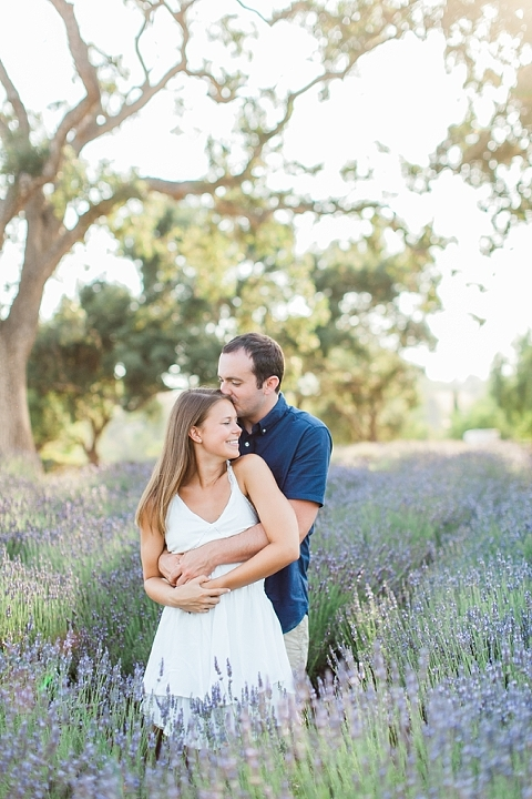 Lavender Engagement Session