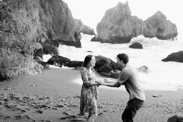 Mussel Rock Engagement Session