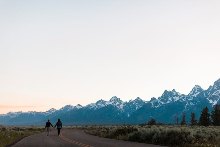 Grand Teton Engagement Session