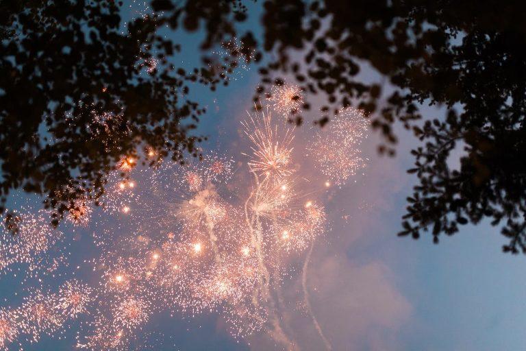 Montana Fireworks Wedding