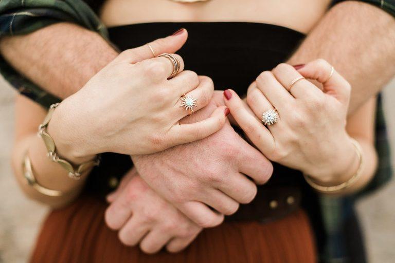 Boho Heidi Gibson Engagement Ring