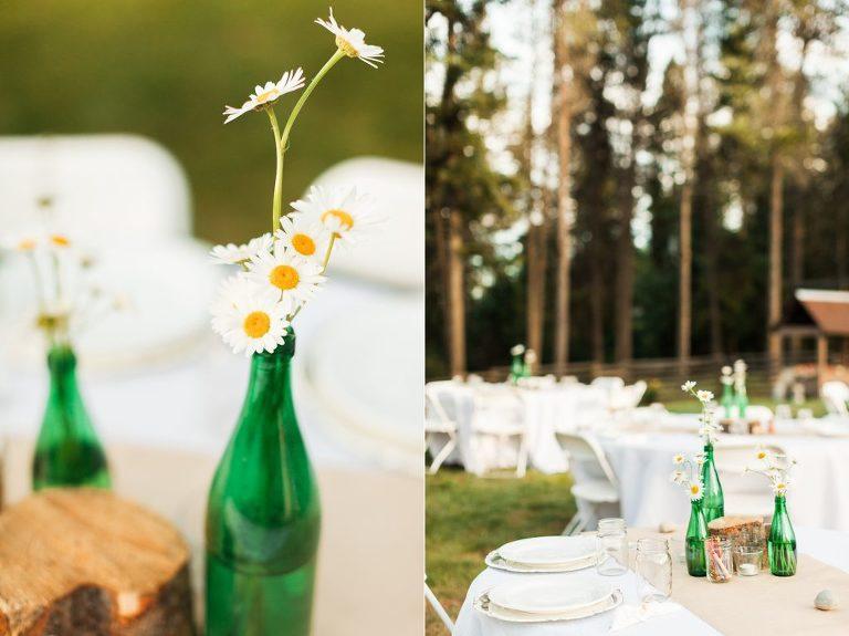 Whitefish Backyard Wedding