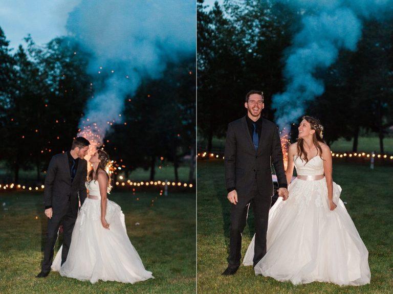 Fireworks Wedding