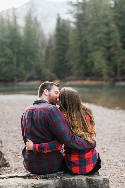 Flannel Engagement session