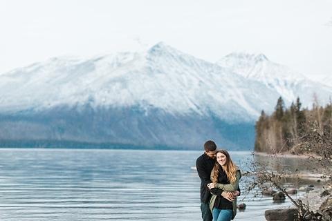 Lake McDonald Engagement Session