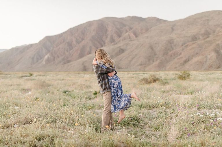 Anza Borrego is one of the best places to elope in San Diego County