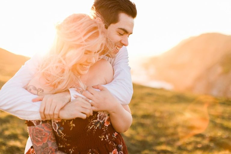 Sunset Point Reyes Engagement Session