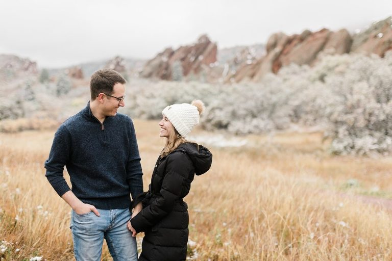 Fall Engagement Session in Denver