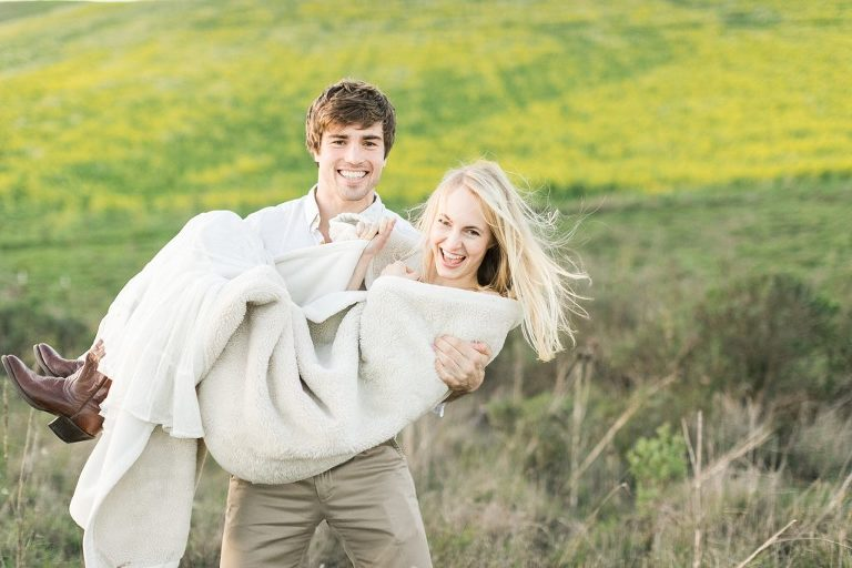 Nicasio Wildflowers Engagement Session
