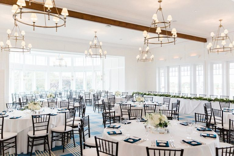 Wedding Reception at Woods Hole Golf Club