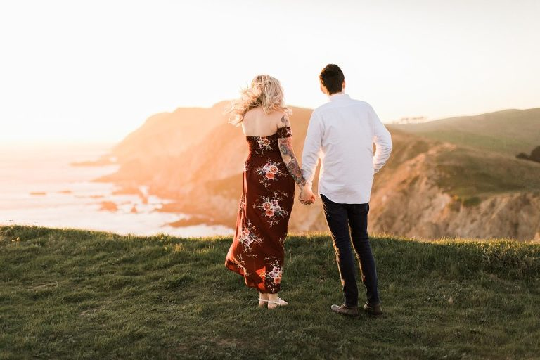 Chimney Rock, Point Reyes Engagement Session