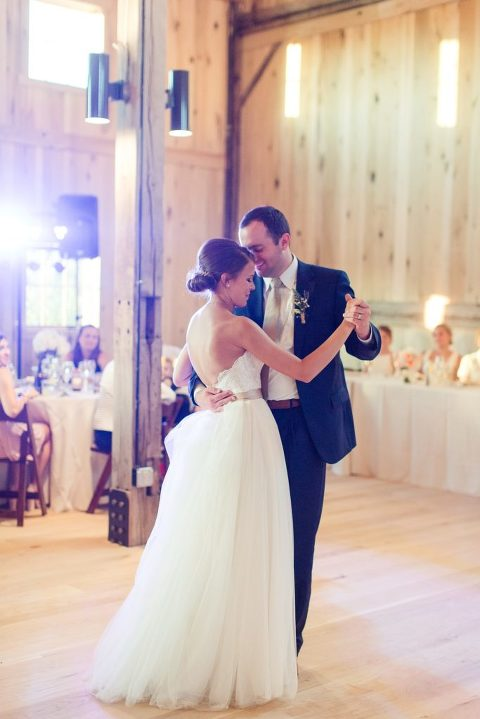 First dance at Lindley Farmstead