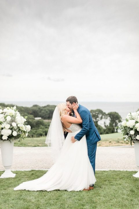 Outdoor wedding Cape Cod