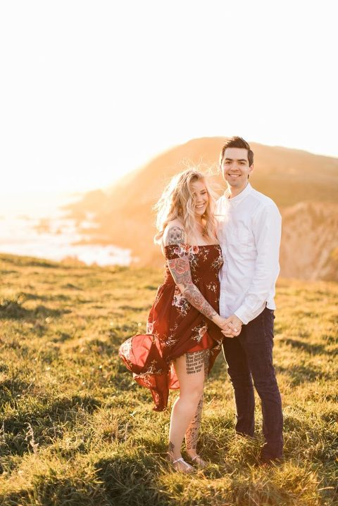Chimney Rock Engagement Session