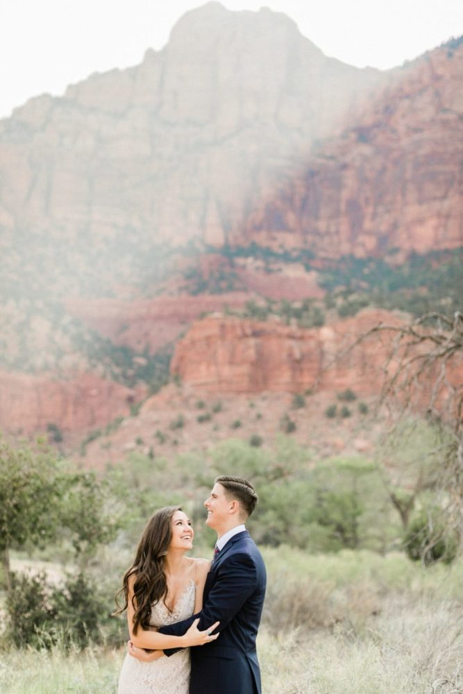 Boho Zion National Park Elopement